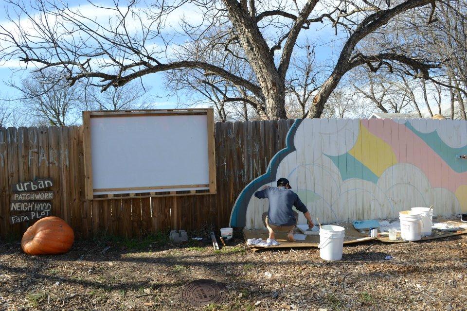 Community Billboard and Mural